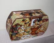 Чемодан деревянный PD746