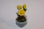 Цветок в горшке FT858