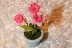 Цветок в горшке FT859